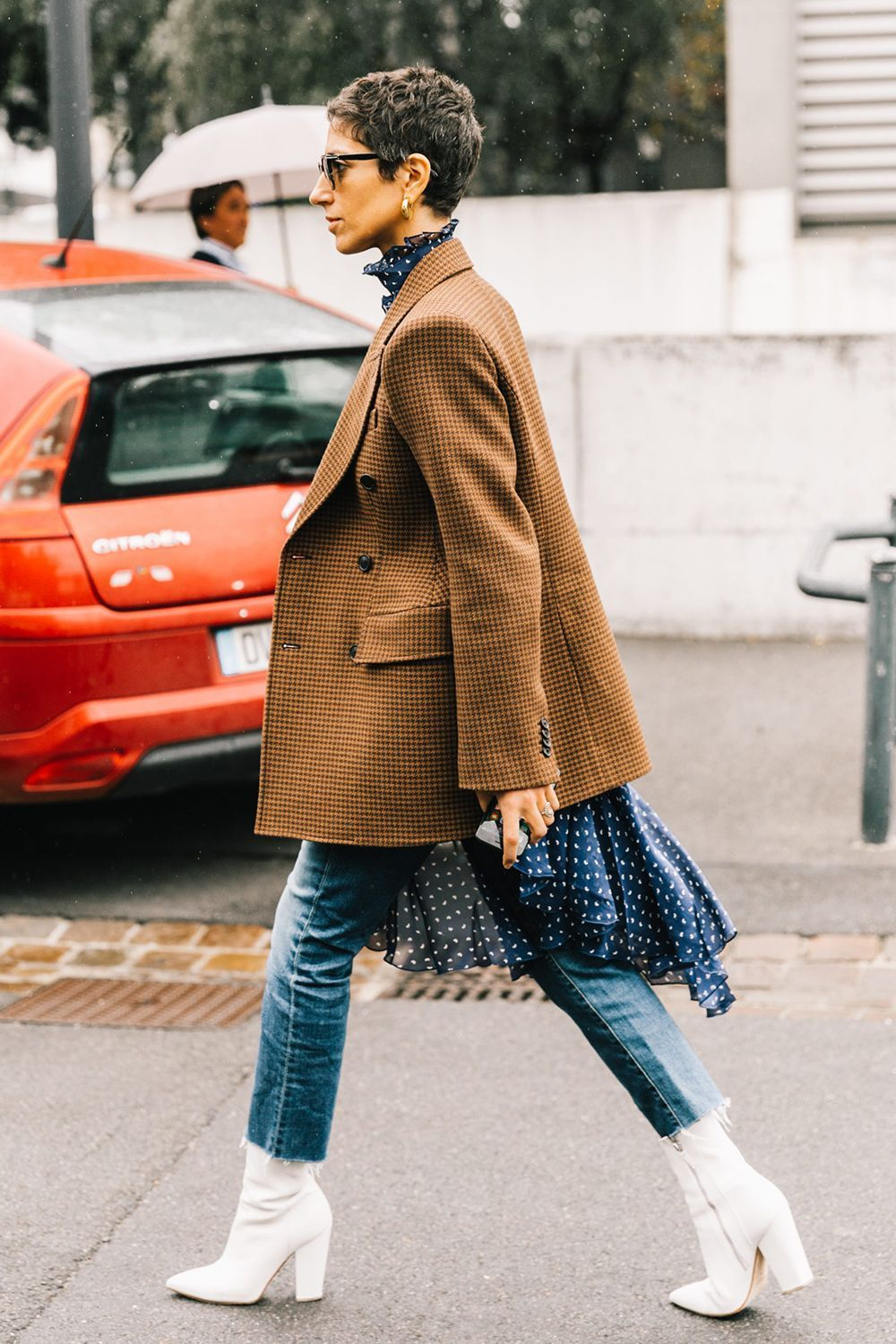 2019 year for lady- How to cropped wear pants with booties