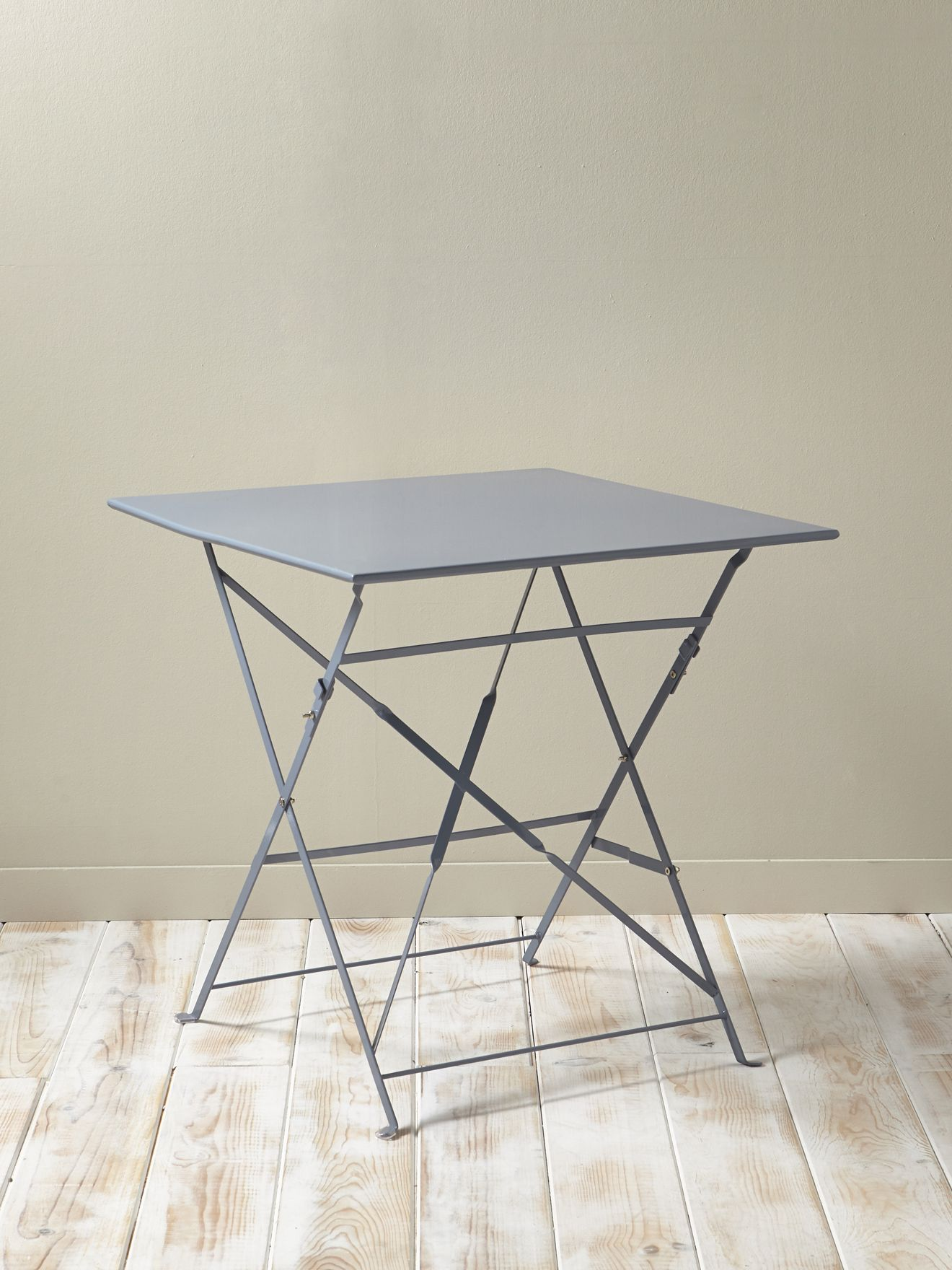 Table de jardin métal cyrillus 35 € http://www.cyrillus.fr/table-de ...