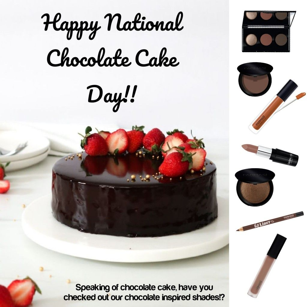 Pin By Olena N On Farmasi In 2020 National Chocolate Cake Day Food Chocolate Cake