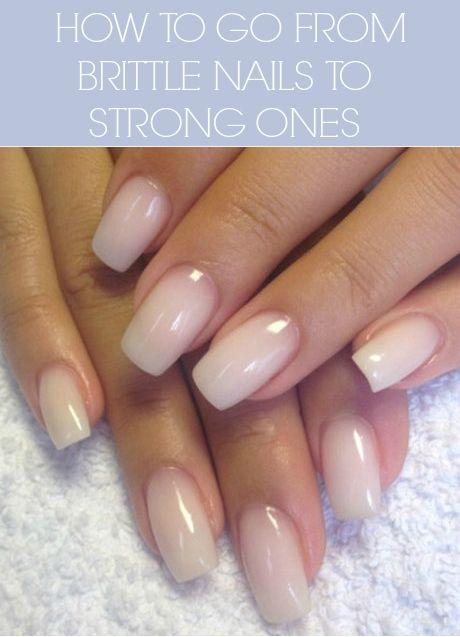 how to grow stronger nails tips that work cool stuff pinterest n gel manik re und. Black Bedroom Furniture Sets. Home Design Ideas