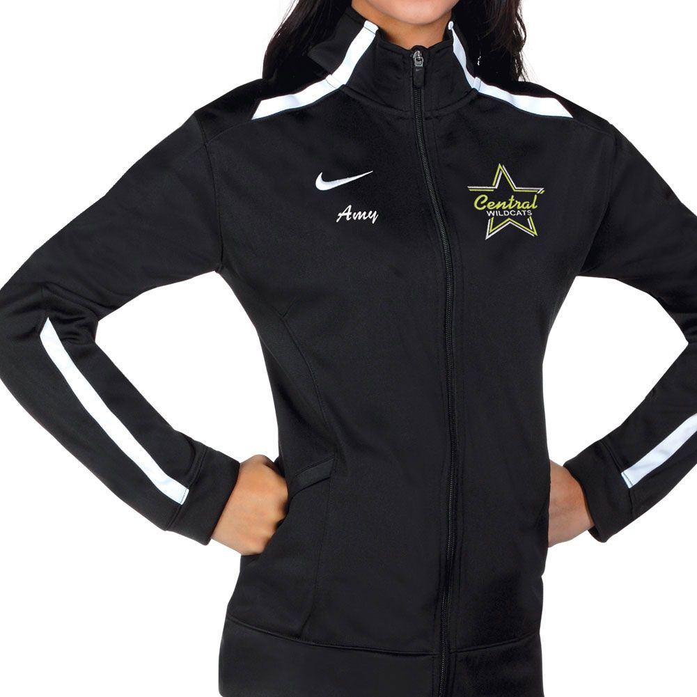Nike Women S Team Overtime Jacket Omni Cheer Dance Jackets Cheer Jackets Custom Team Apparel