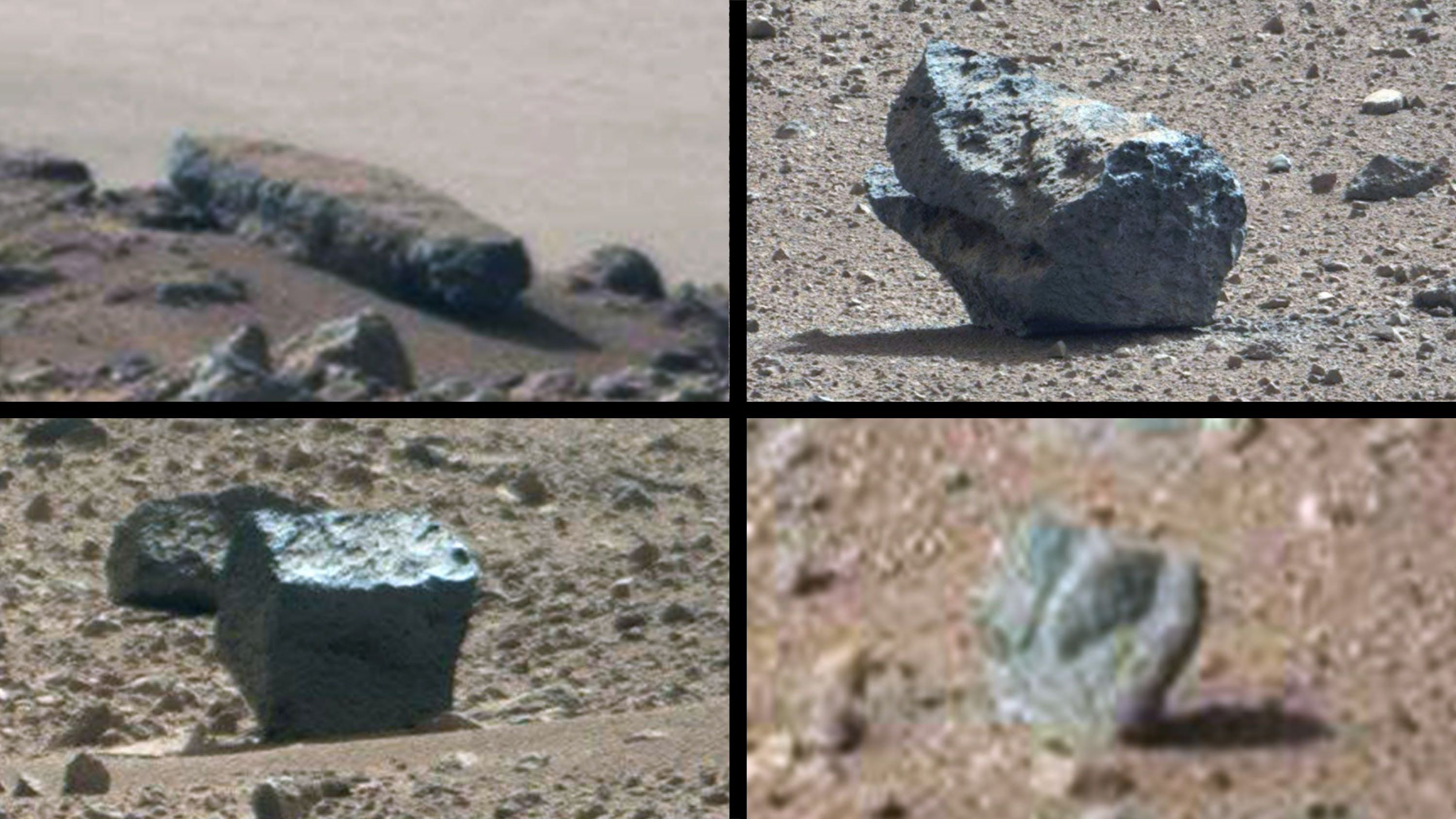 Nasa curiosity discovery of egyptian statues on mars october