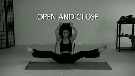 Open And Close | Kondi Callanetics: You will feel this exercise building up incredible strength throughout your entire body with special emphasis in shaping your legs, inner thighs, abdominals.