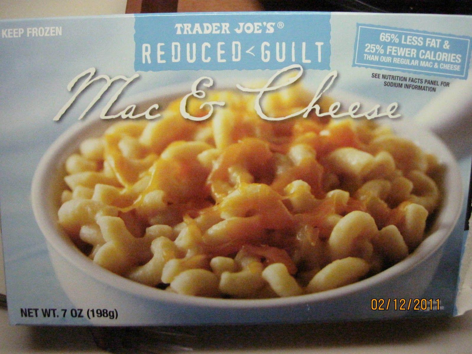 Reduced Guilt Mac Cheese Trader Joes Food Trader Joes Vegan Mac And Cheese