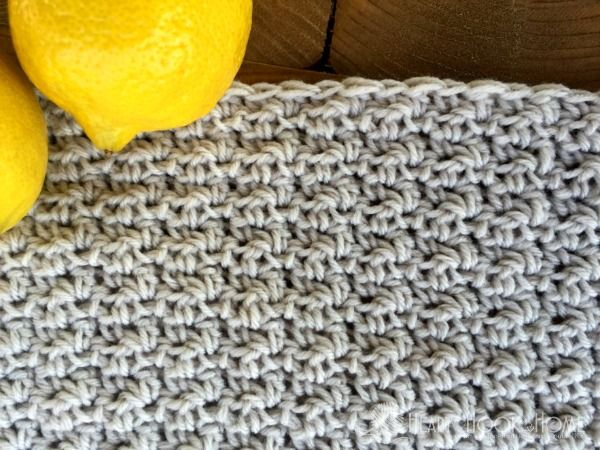 Easy Crochet Stitch Tutorial: How to Crochet the L