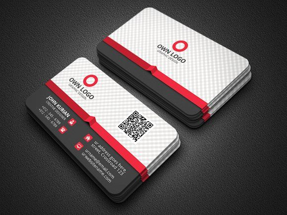 Creative business card templates features round square corner business card templates accmission Images