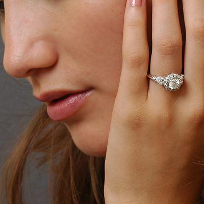 Art Deco Verlobungsringe Verlobungsringe Diy Jewelry Projects