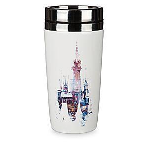 Castle Ceramic Travel Disney Walt Cinderella World Tumbler 2017 drxoBeC