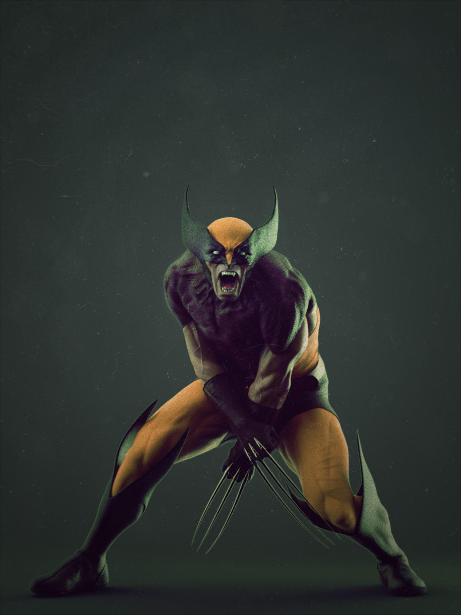 Pin by caption entertainment on cgi wolverine art - Wolverine cgi ...