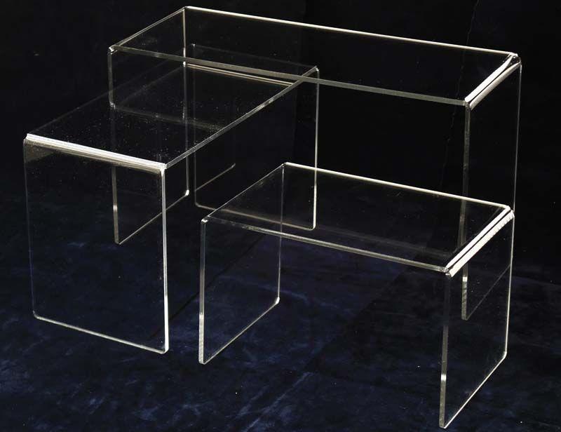 Alzata display da esposizione vetrina in plexiglass ...