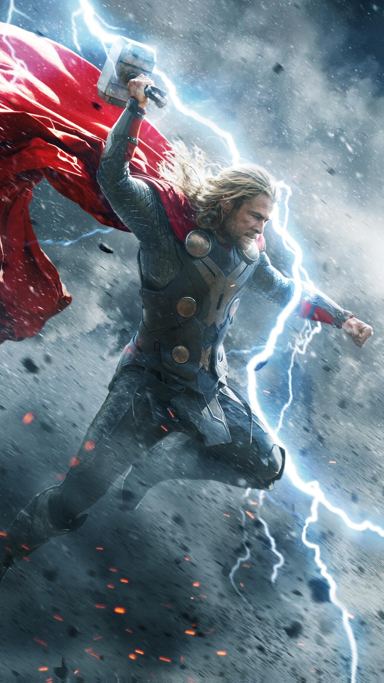 Thor The Dark World (2013) Phone Wallpaper Thor