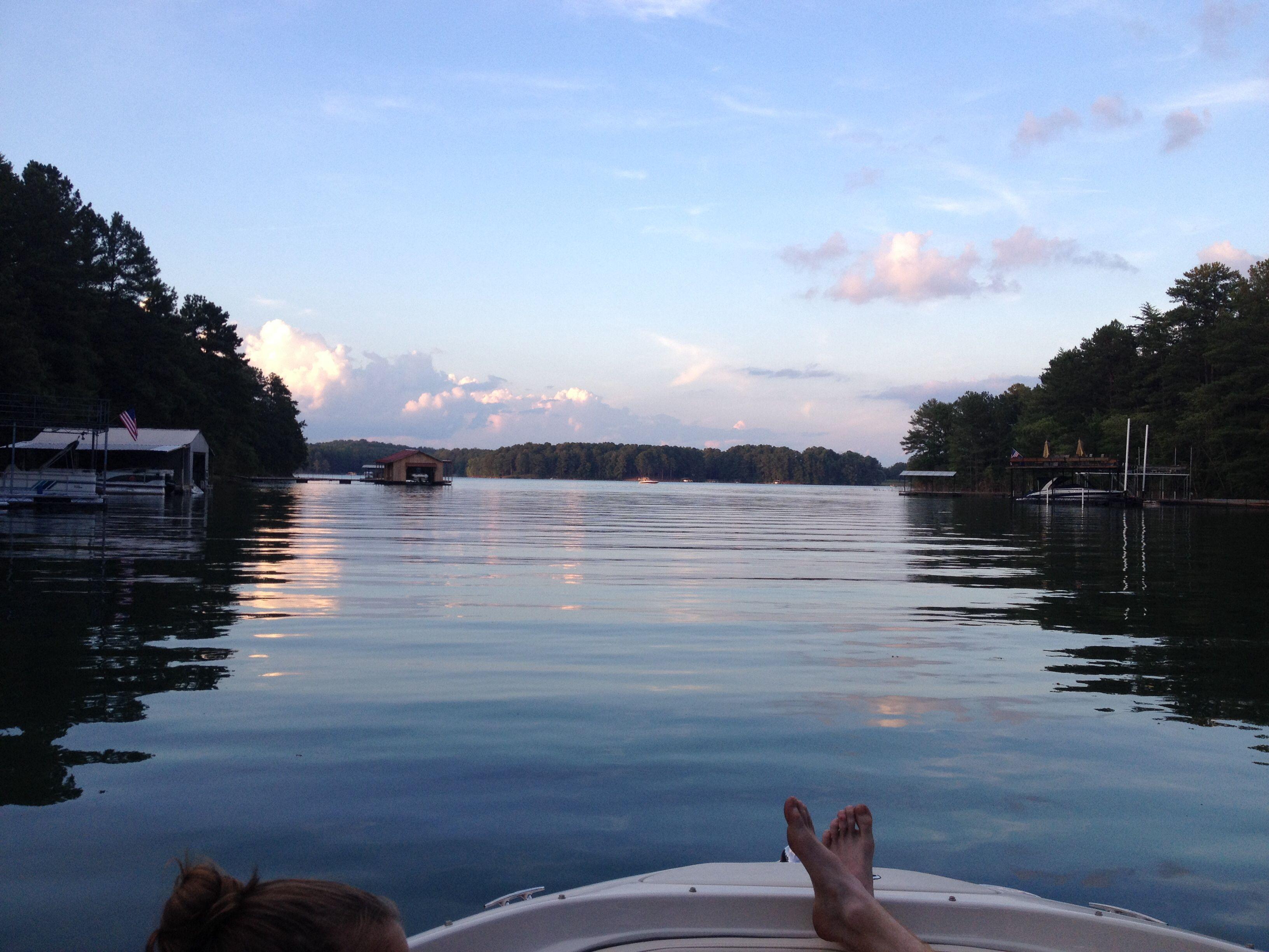 Sunset on the Lake Lanier