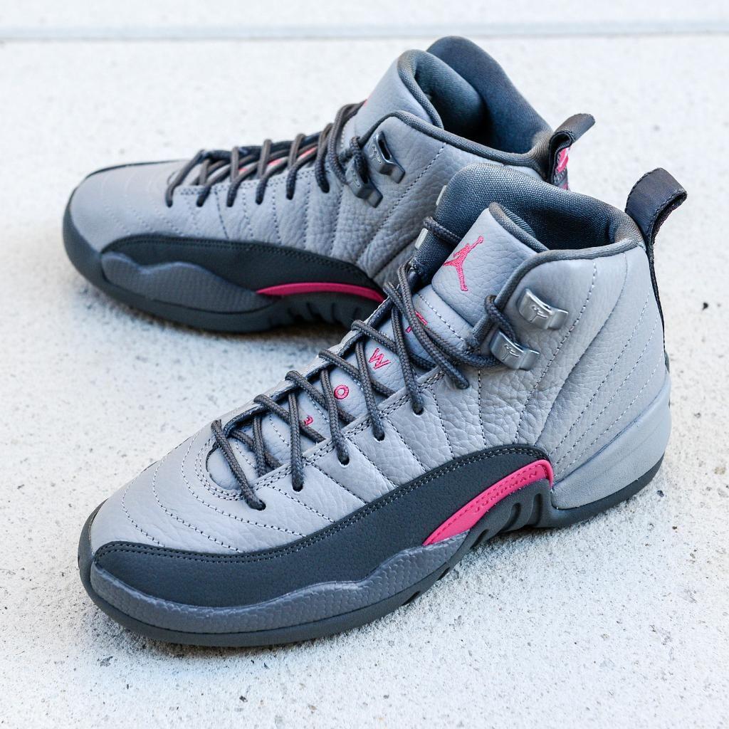best service 7088c e5119 Air Jordan 12 Retro (Girls) « Vivid Pink » Credit   FootAction  Nike   Inside  Sneakers