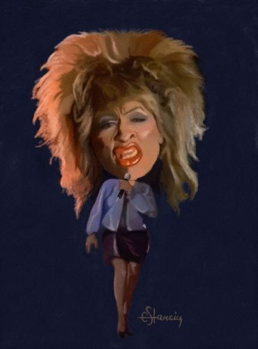 Tina Turner  (By cristianst)