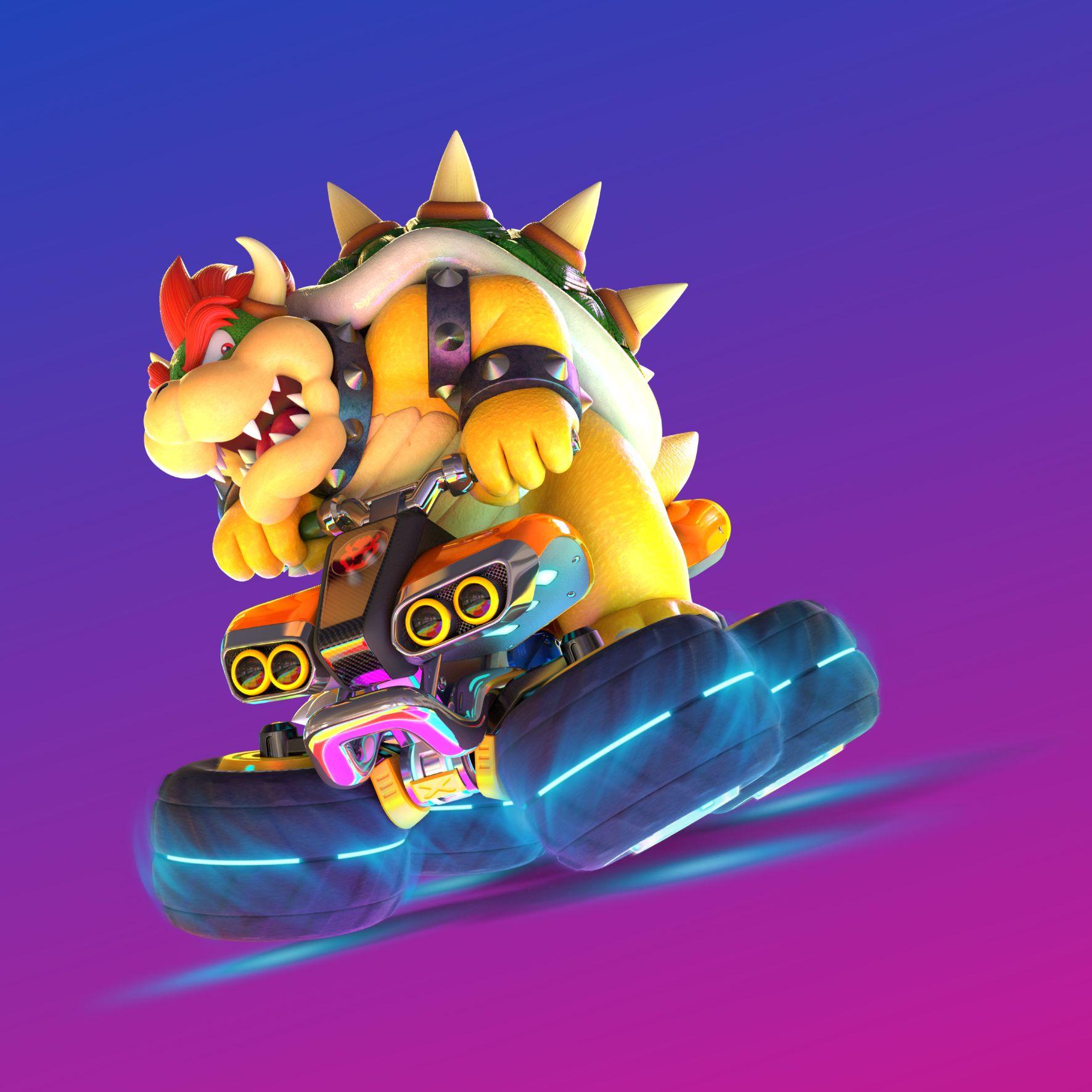 Mario Kart 8 Deluxe Hd Artwork Mario Kart 8 Wii U Mario Kart