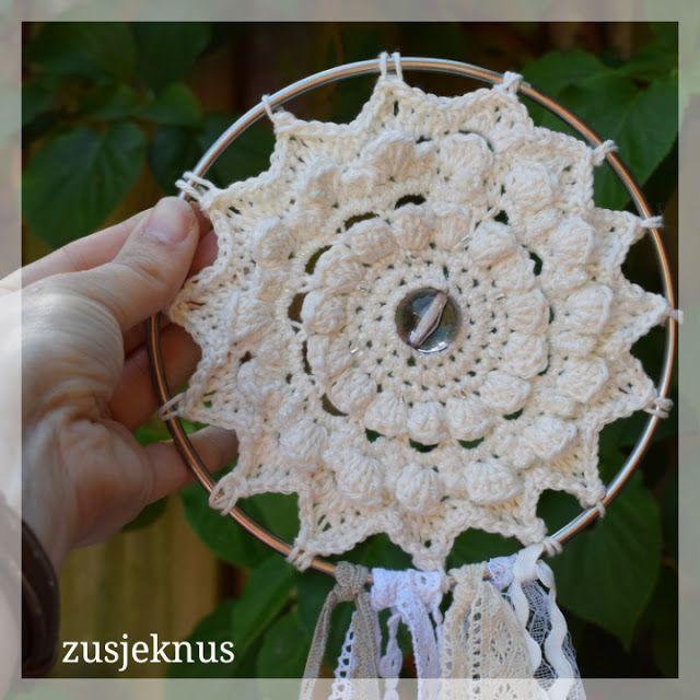 Gratis Patroon Gehaakte Dromenvanger Haken Patroon Crochet