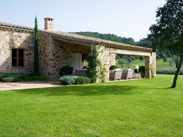 Una mas a con alma en el bajo ampurd n giardini di for Camera padronale di campagna francese