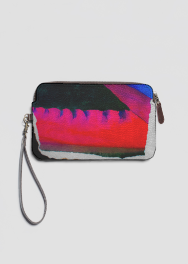 VIDA Leather Statement Clutch - Cityscape by VIDA