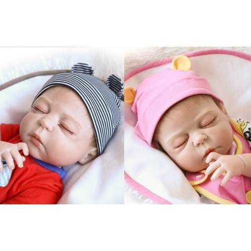 Bebê Reborn Bruna Chora E Balbucia Linda! - R$ 1.599,99 em ...