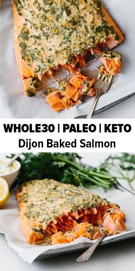 Photo of Dijon Baked Salmon – The Best Baked Salmon Recipe | Downshiftology