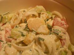 Verboten gut ⚠: Griechischer Kartoffelsalat mit Tsatsiki ~ Dressing