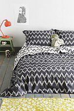 Urban Outfitters - Magical Thinking Chevron Duvet Cover
