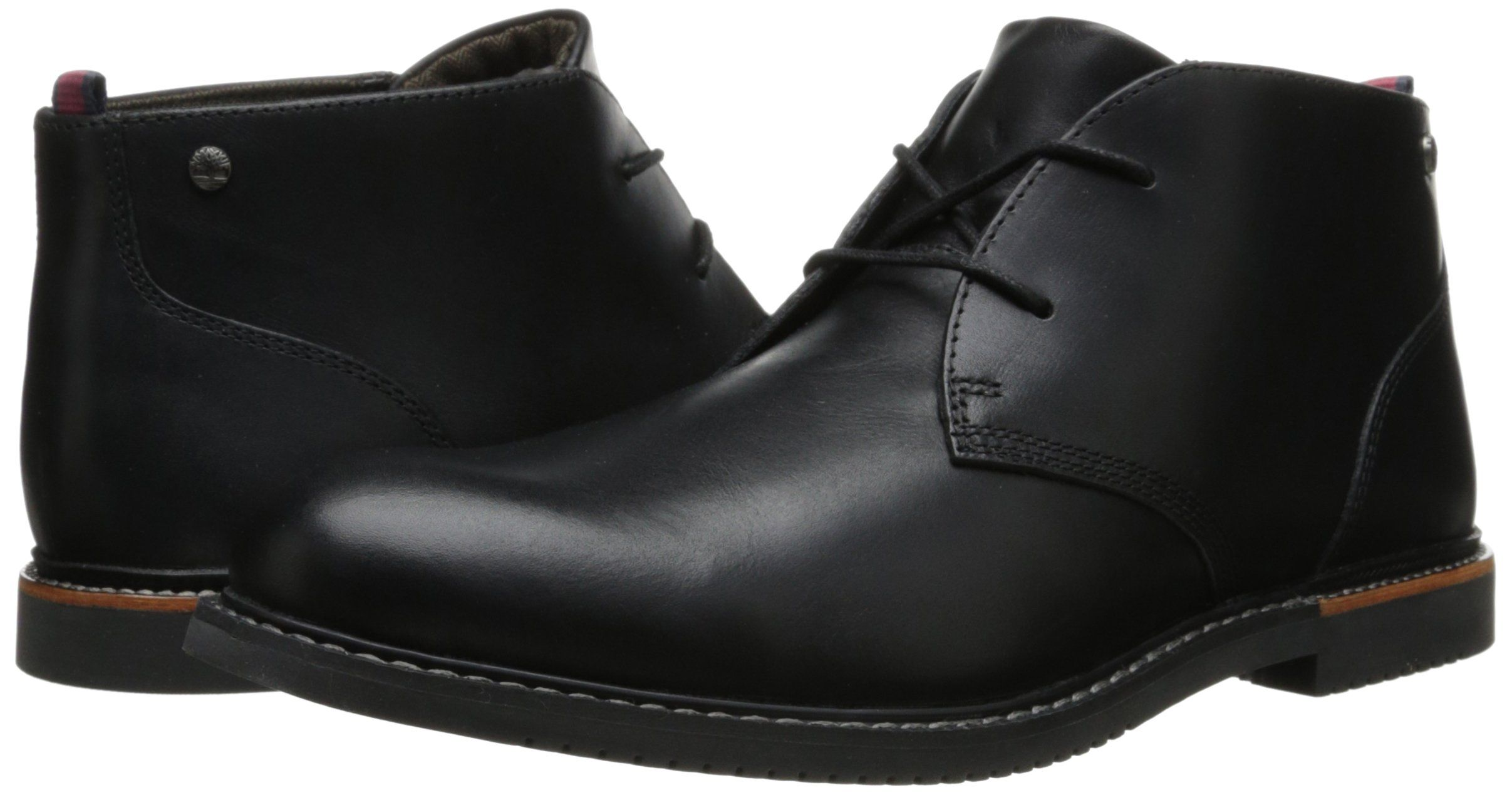 e4dd9da6139cd Timberland Mens EK Brook Park Chukka BootBlack Smooth9 M US    Click on the  image for additional details. (This is an affiliate link)