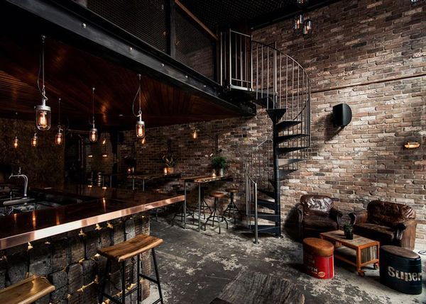 Rustic Atmospheric Bars Loft style Lofts and Bar