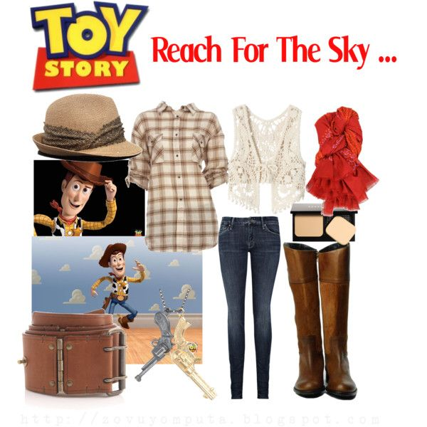 Disney Inspired Looks: Toy Story, created by mputazovuyo on Polyvore