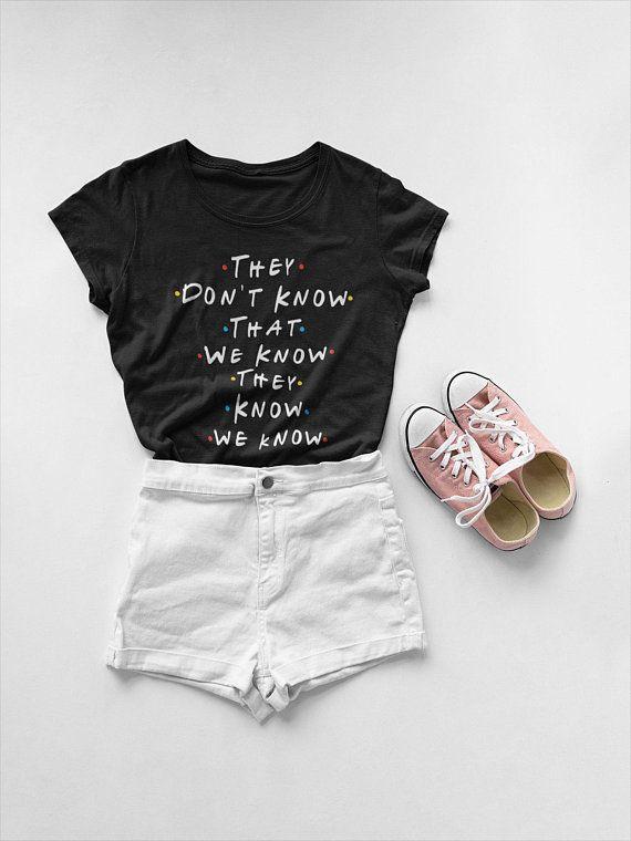 Friends TV Show Shirt Pour Enfants Garçon Fille T-Shirt T-Shirt Drôle Chemise Bébé Ami