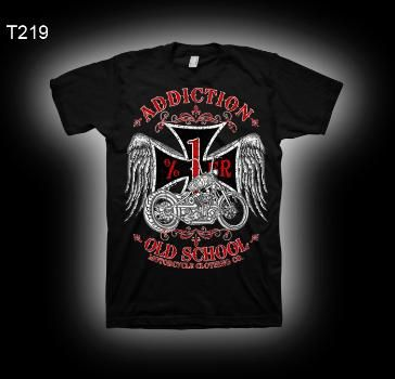 Addiction Brand, Angry Clown, tattoo style t-shirts, tattoo style ...