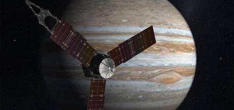 Sonde aangekomen bij planeet Jupiter