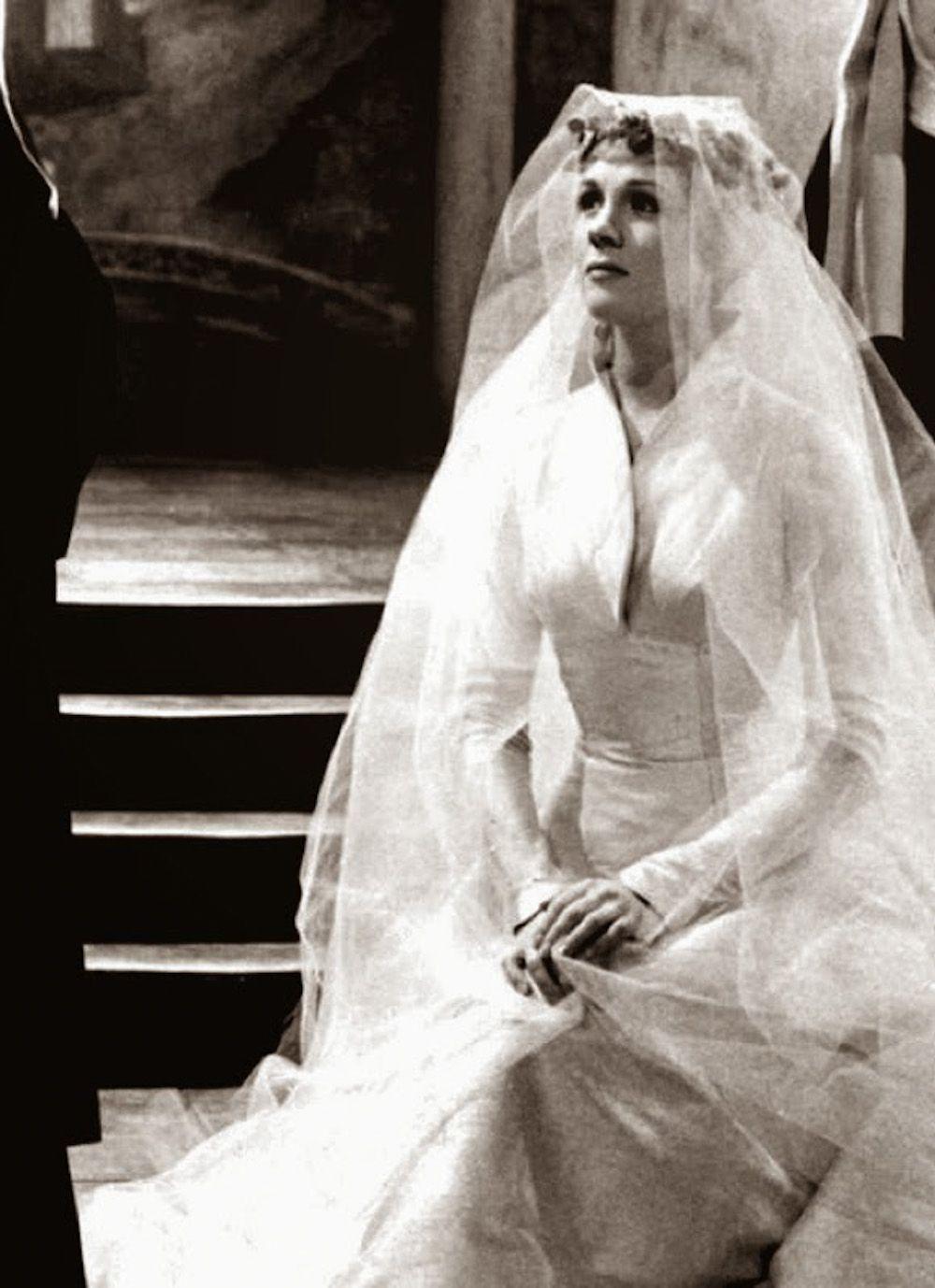 Maria Von Trapp Wedding Gown Sound Of Music Movie Sound Of Music Wedding Movies