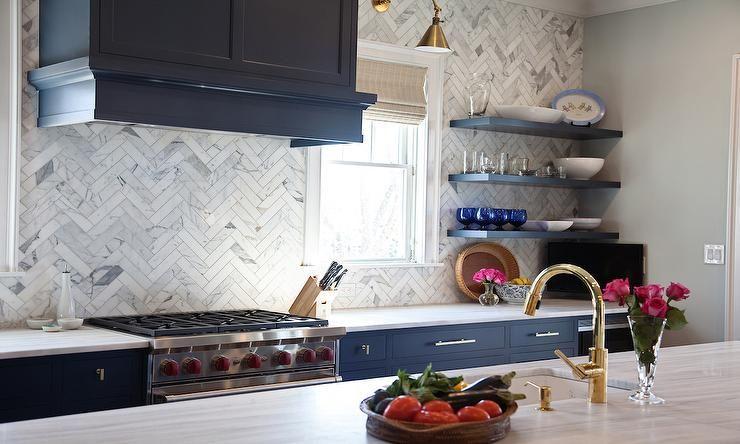 Image result for quartzite backsplash blue   Kitchen Ideas   Pinterest