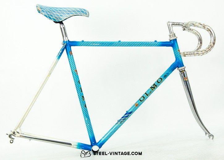 Olmo Competition Frame Set Steel Bike Bike Frame Road Bike Vintage