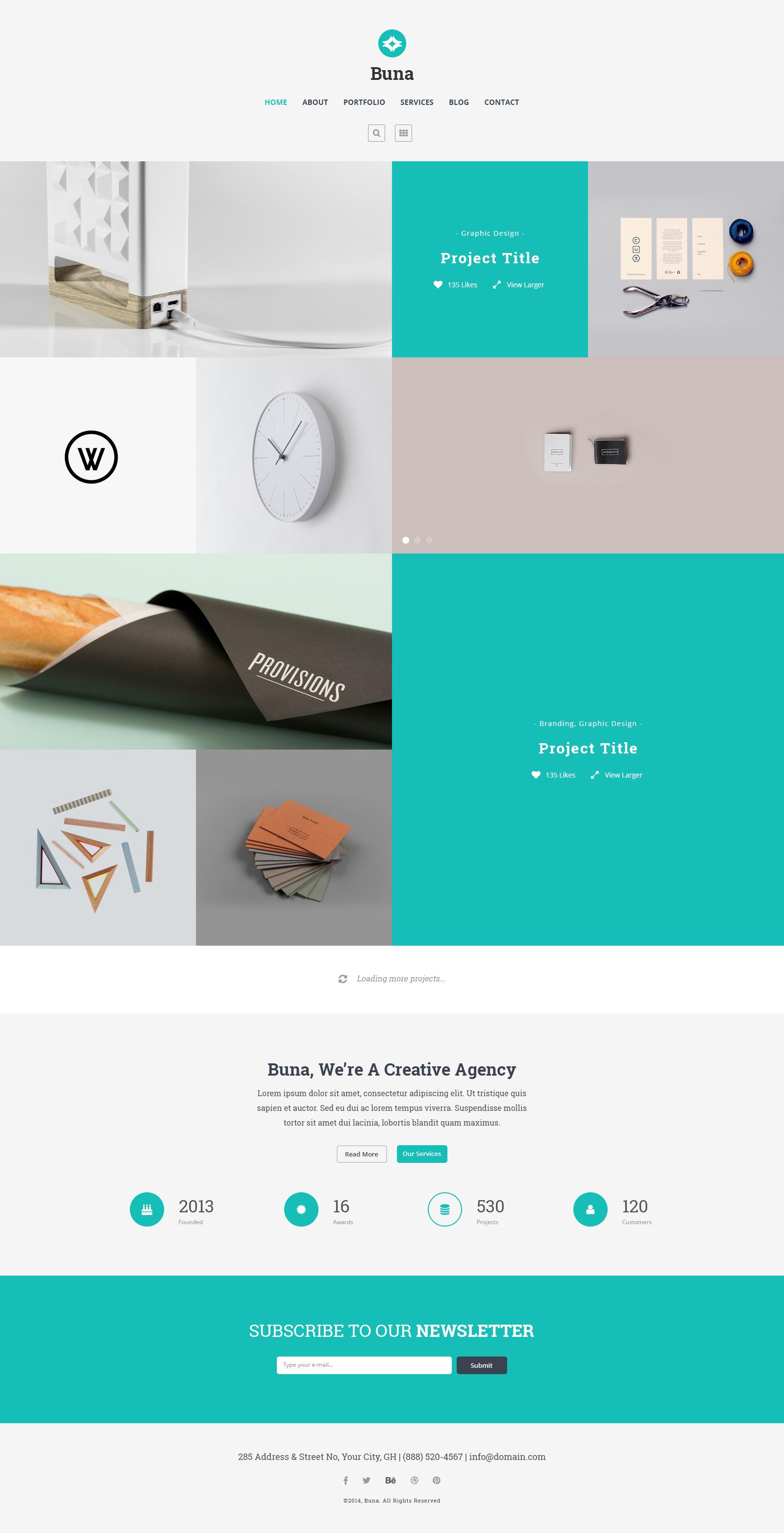 47 Most Creative Wordpress Themes 2020 Updated Creative Wordpress Themes Website Design Wordpress Wordpress Design Inspiration