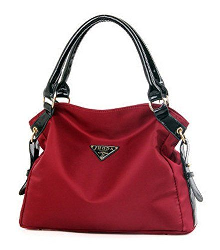 XMLiZhiGu Women's Shoulder Oxford Cloth Bag Fashion Large Crossbody Bag Girls Purse Casual Tote Handbags Red #monogrammed #kavu #rope #bag