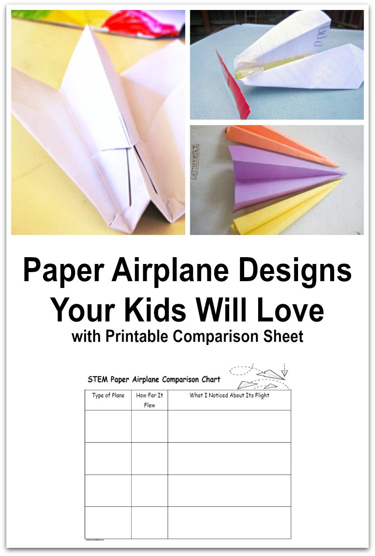 Paper Airplane Designs Your Kids Will Love Jdaniel4s Mom Virtual