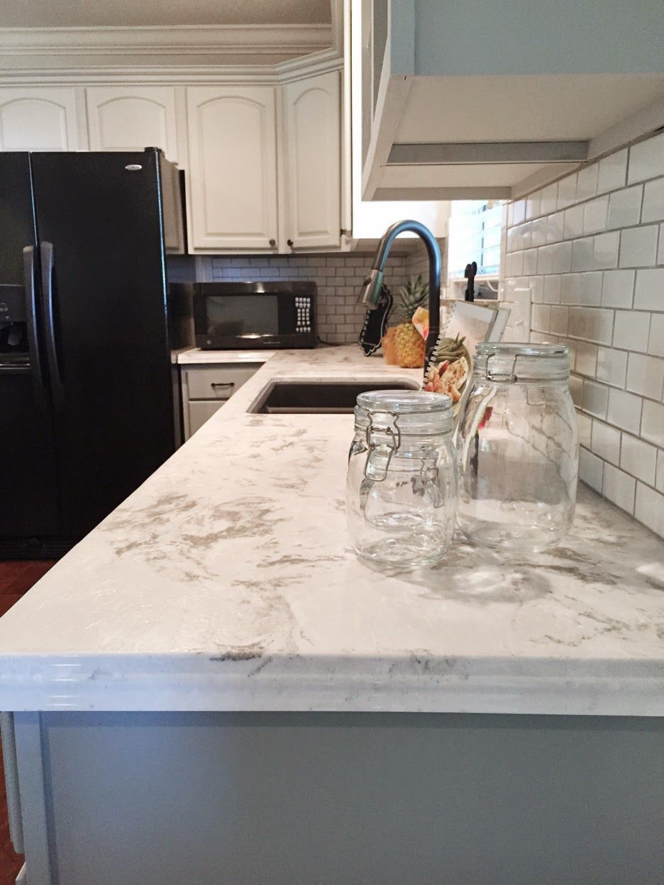 Brittany S Fabulous Rancher Reno The Big Reveal Solid Surface Countertops Kitchen Corian
