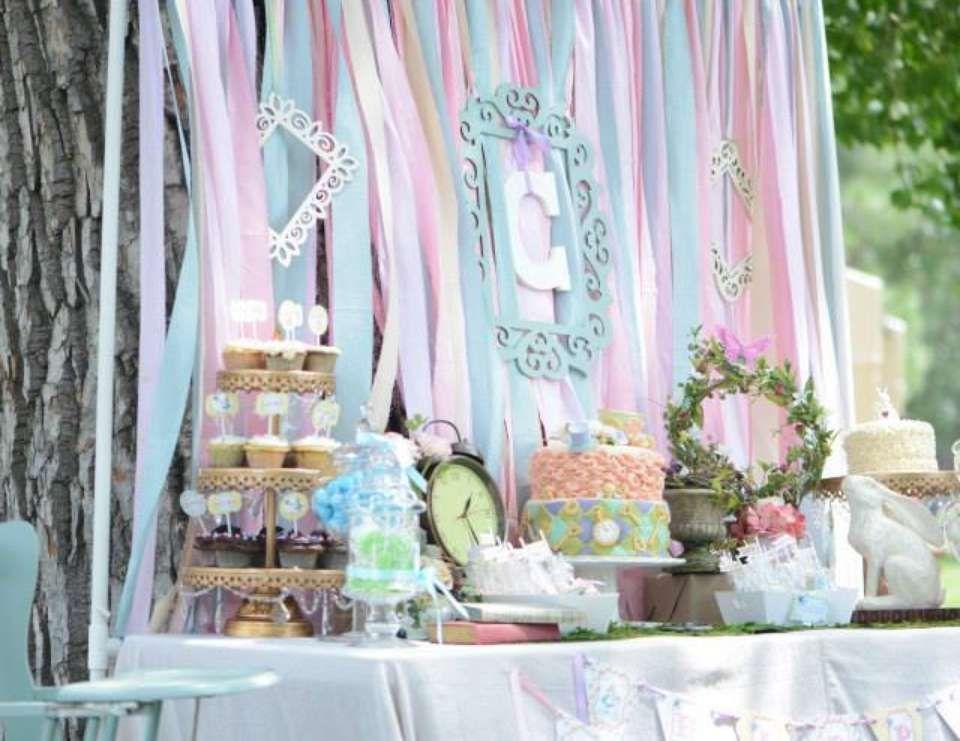 Vintage Alice in Wonderland Birthday Vintage Alice in Wonderland