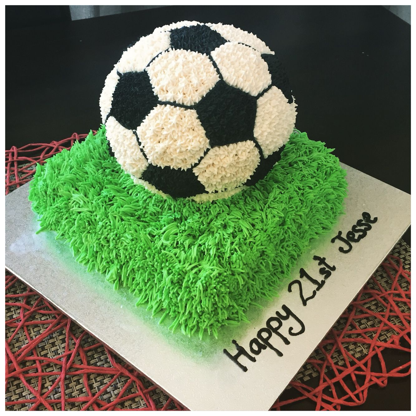 How To Decorate A Soccer Ball Cake Soccer Ball Tutorial & How To Make A Round Cake~ Video  School
