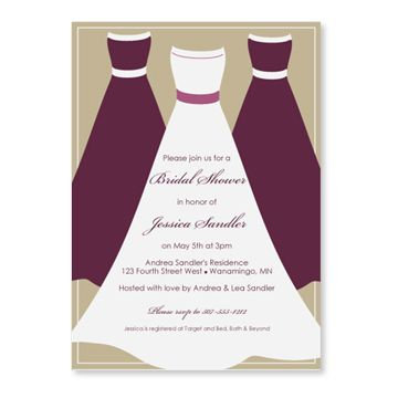 Plum Colored Bridal Shower Invitations | Wedding Shower Templates Free  Download  Free Bridal Shower Invitation Templates For Word