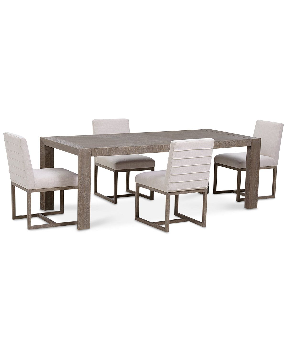 Closeout Astor Dining 5 Pc Furniture Set Table 4