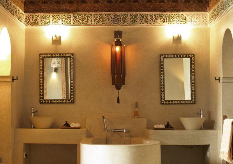 Déco de Salle de Bain orientale | Déco de salle de bain orientale ...