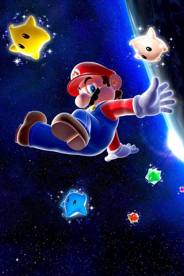 Super Mario Galaxy Background Mario And Luigi Super Mario Bros Super Mario Galaxy