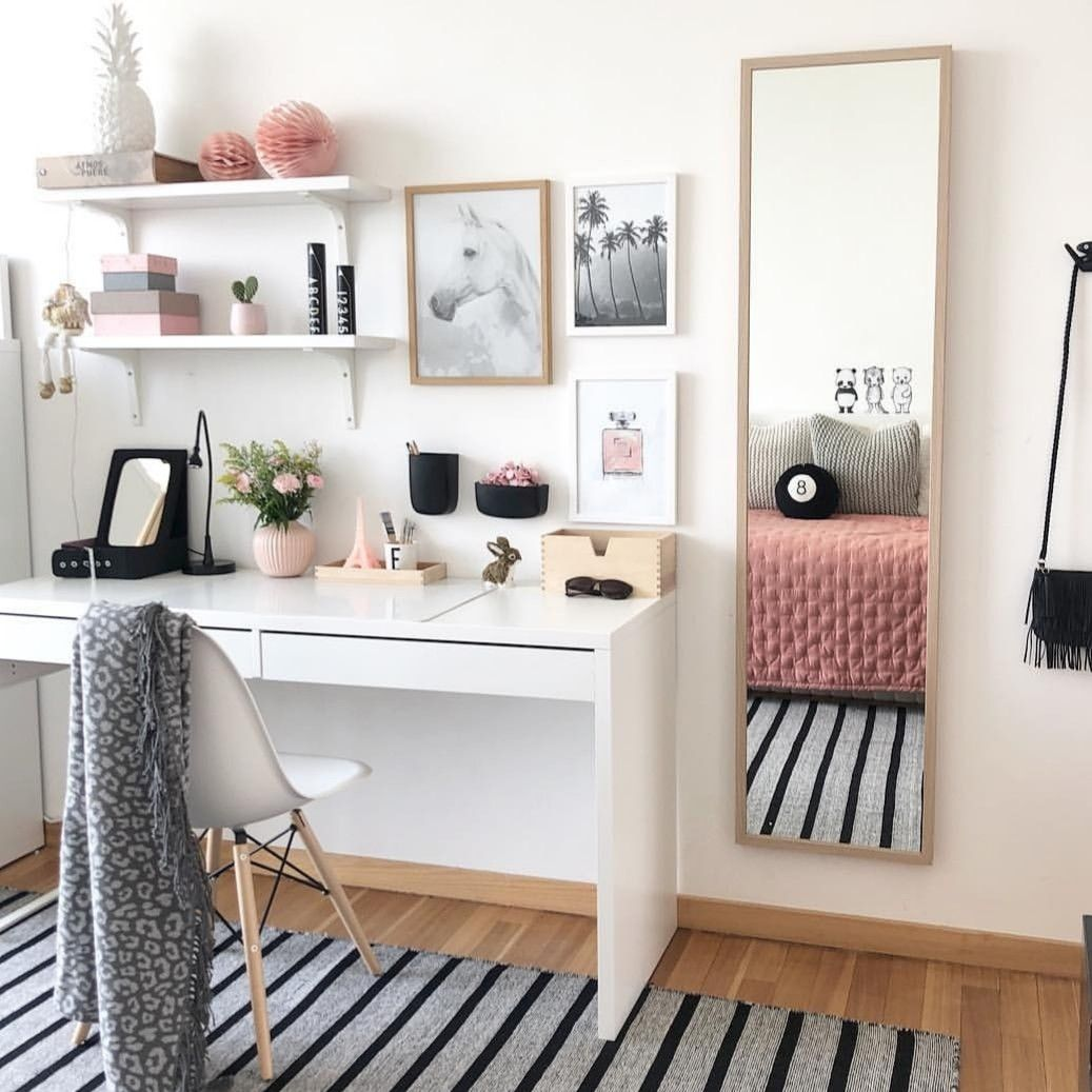 Home Office Bedroom Ideas: Pin By Ploy Chatchada On Chatchaaa In 2019