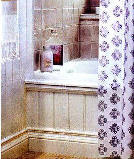 Bathroom MakeoverHow To Add Decorative Molding To A Bathtub In My - Bathroom tub makeover