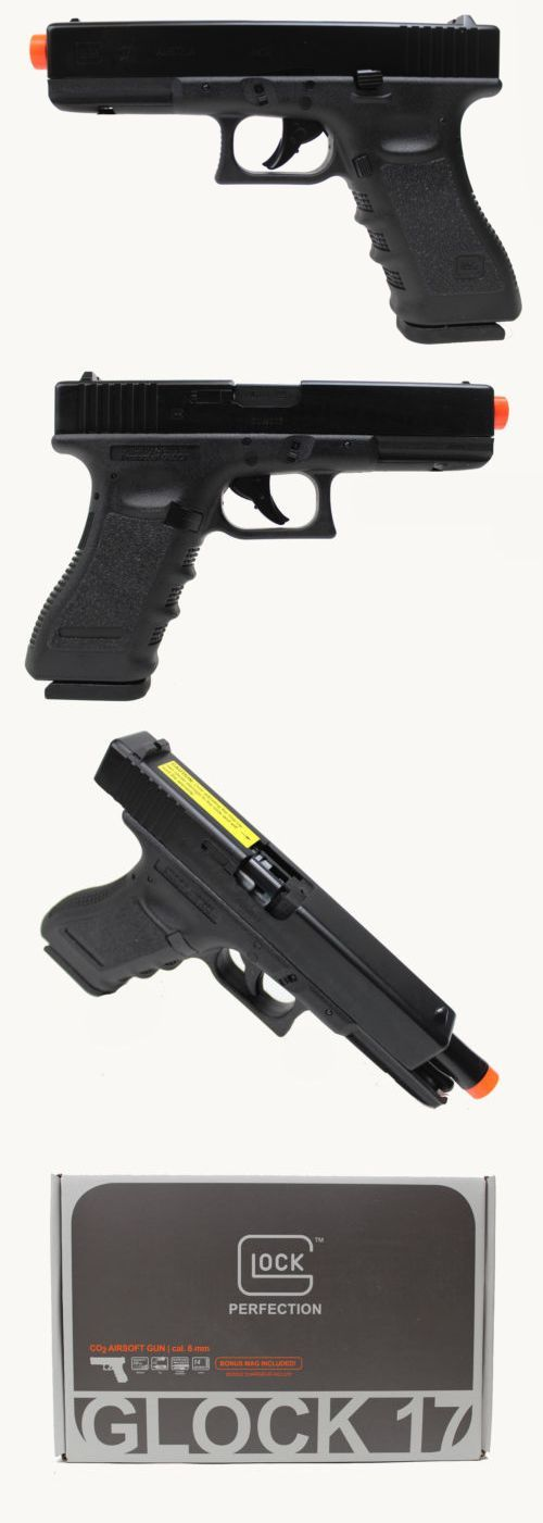Gas 160920: Umarex Glock 17 Gen 3 Co2 Airsoft Pistol - Black - New
