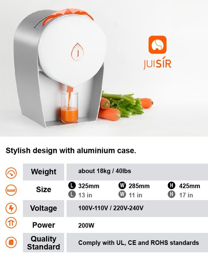 JULAVIE COLD PRESS Juicer Kickstarter