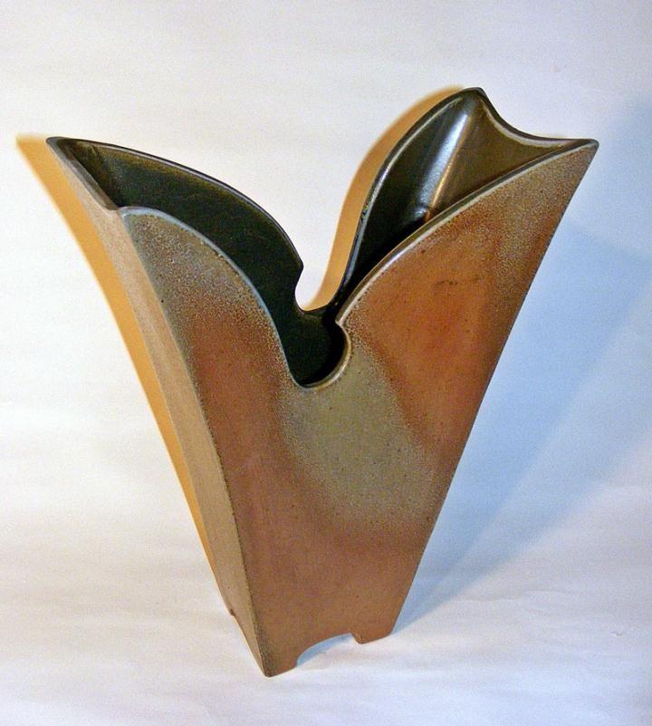 Slab Pottery Vase 1000+ images about slab pots on pinterest slab ...